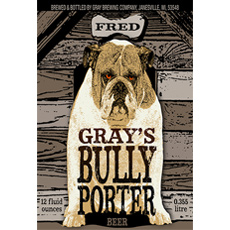 gray brewing co bully porter