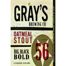 gray brewing co oatmeal stout